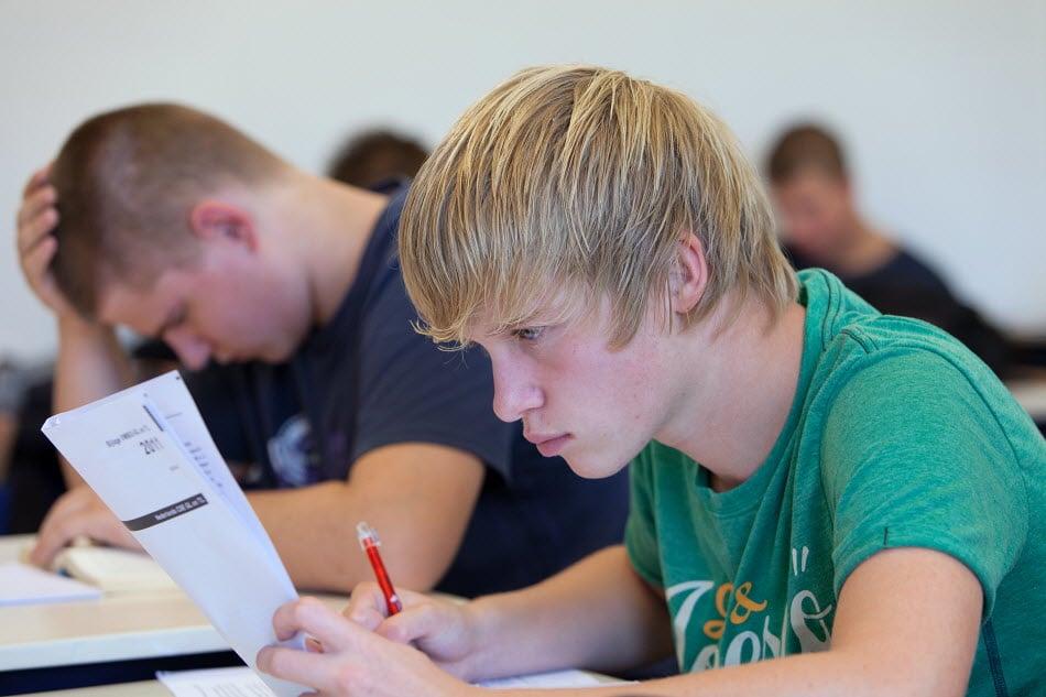 gespreid examen doen
